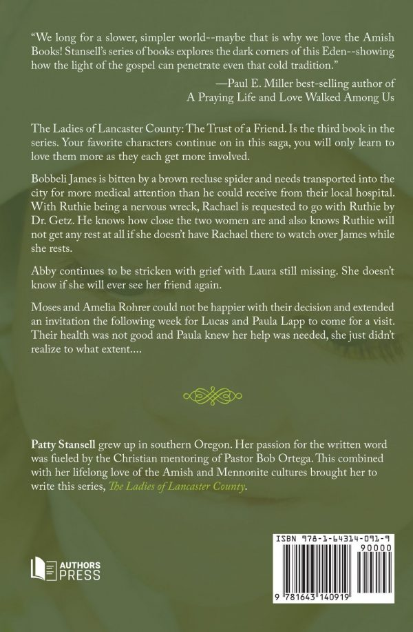 The Ladies of Lancaster County: The Trust of a Friend: Book 3