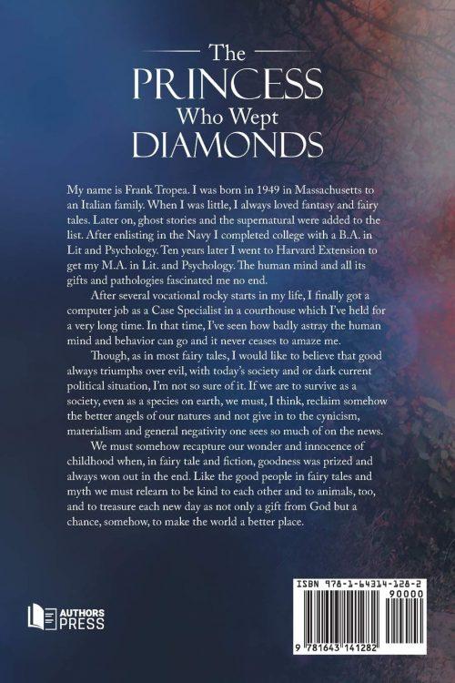 the princess who wept diamonds back cover