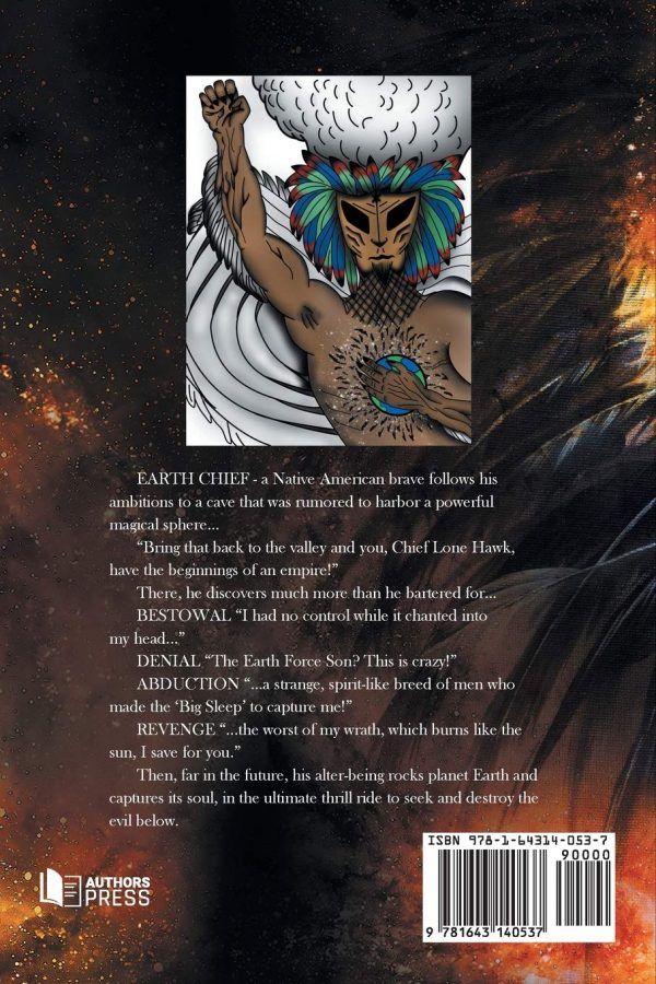 earth chief back cover