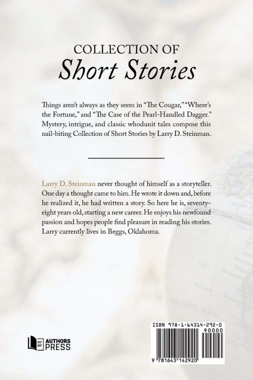 Collection of Short Stories back